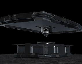 3D model Sci-Fi Table