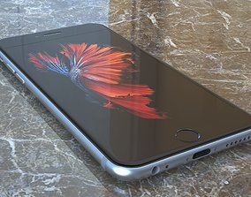 mobile Apple iPhone 6s 3D model
