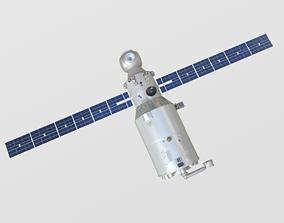 3D model Zvedza Service Module on ISS