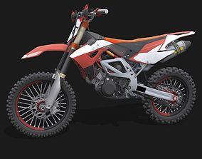 3D asset Aprilia MXV 450