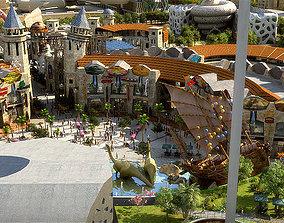 Amusement Park 06 3D