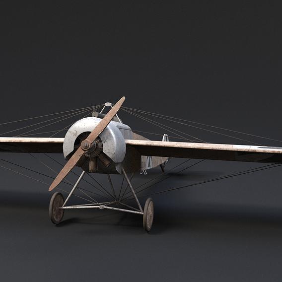 Fokker Airplane