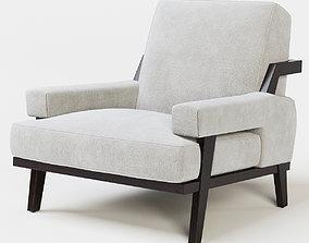 Cigar Lounge Chair 3D model