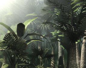 3D model Palms