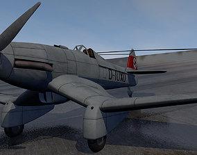 Blohm und Voss Ha-137-v5 3D plane