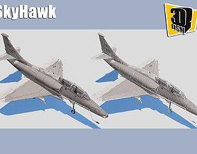 Skyhawk Airforce Battleplane 3D model