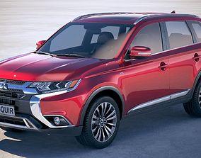 3D Mitsubishi Outlander 2019