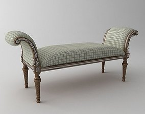 Classical Bench 3D