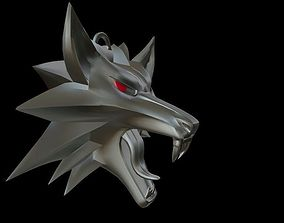 Witcher medallion 3D printable