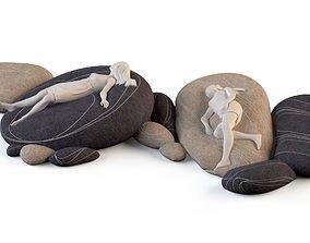 3D Outdoor cushion stones factory Smarin