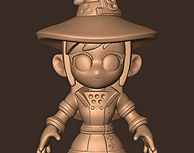Maki Oze chibi Fire Force 3D printable model