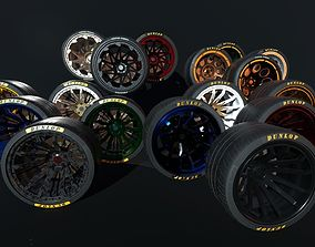 3D Wheels for supercars