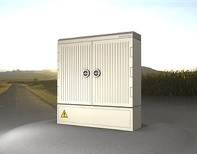 Electrical Distribution Cabinet 156 3D model