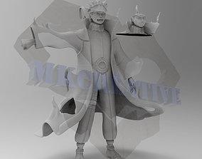 Naruto Kuybi Mode 3D print model two-face