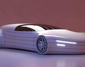 3D model Future Car 24