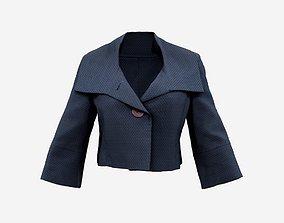 Mini Stylish Jacket Top 3D model fabric