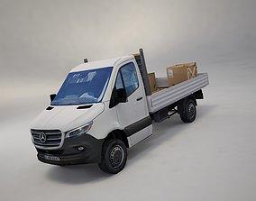 Mercedes Benz Sprinter 2020 Pickup truck L2 3D asset 3