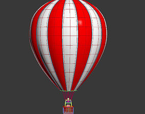 airplane 3D model Hot Air Balloon