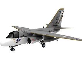 VR / AR ready Lowpoly S-3 Viking Aircraft Model texture