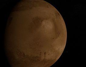 3D Planet Mars