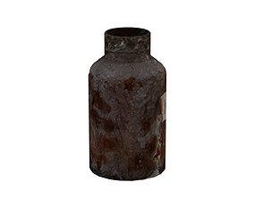 Old Drugs Bottle 01 04 3D asset
