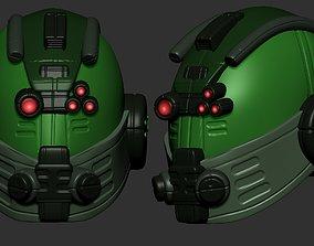 safety helmet high poly sculpt 3d printable 3D model
