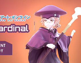 Cardinal system sword art online figure 3D printable model