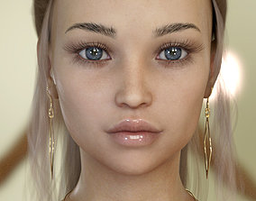 3D model rigged Courtney for Genesis 8 Female