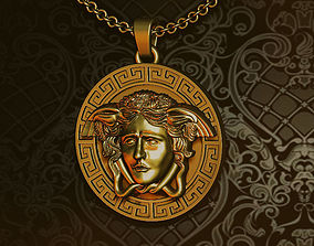 3D print model VERSACE pendant greek