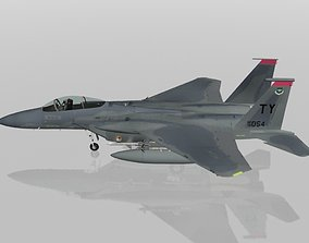 3D F-15C Eagle USAF military aircraft