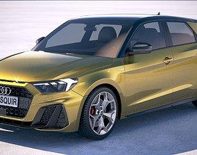 3D Audi A1 S-line 2019