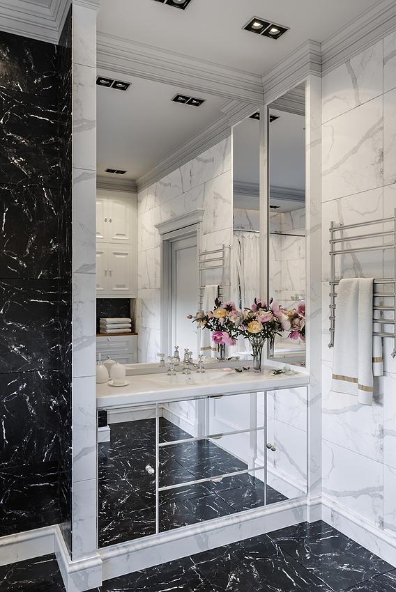 Interior Neoclassic Bathroom 01