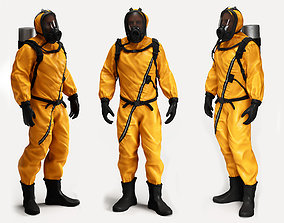 Biological Protection Suit 3D