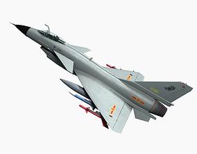 3D model Chengdu J-10 A Vigorouse Dragon