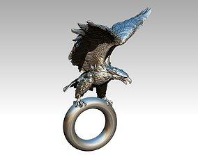 jewellery Eagle pendant 3D printable model