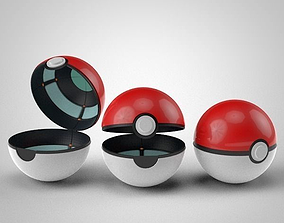 3D Pokeball RIG