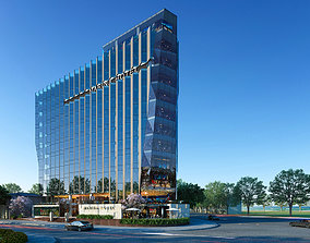 3D model Hotel Building TH residentiary