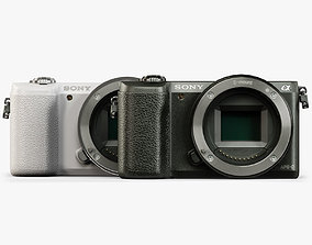Sony A5100 Body mirrorless digital camera 3D asset