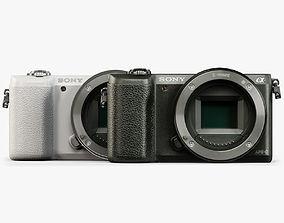 Sony A5100 Body 3D model