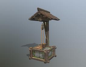 Old Japan well 3D model