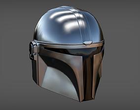 Accurate Mandalorian Helmet 3D printable model