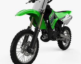 3D model Kawasaki KX85 1998