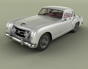 3D model Nash-Healey Le Mans Coupe