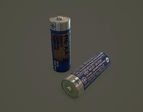 3D model AA Battery
