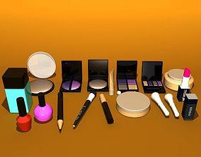 Cosmetics Makeup Item 3D