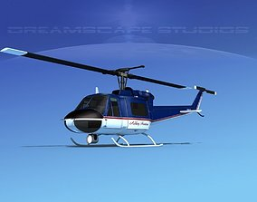 3D Bell 204 Ashley Aviation