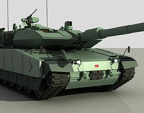 Turkish main battle tank ALTAY 3D model