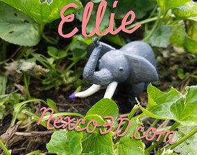 3D Ellie wildlife