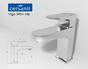 Cersanit vigo S951-146 mixer 3D model