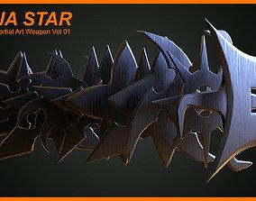Japanese Martial Art Weapon Vol 01 3D model